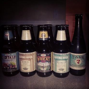 12 pack sampler plus #tank7 in NJ! #craftbeer #beertography #njcb @Boulevard_Beer